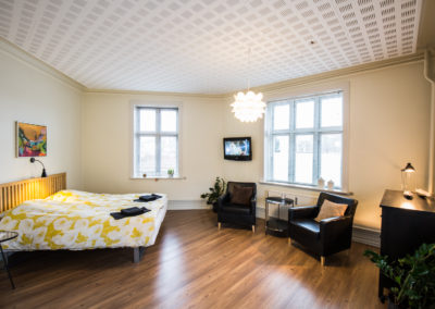 Bed and Breakfast Holstebro parkering