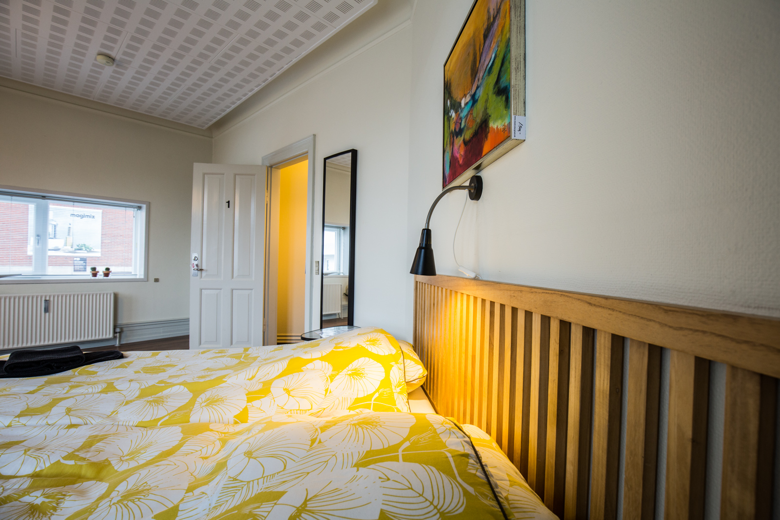 Bed and Breakfast Holstebro seng