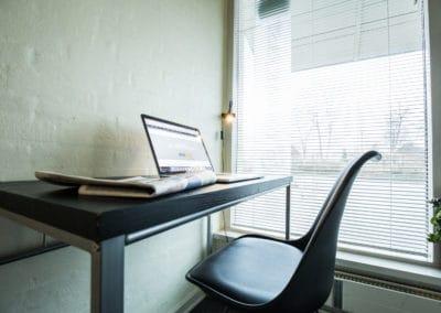 Bed and Breakfast Holstebro skrivebord