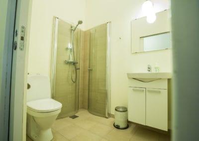 Bed and Breakfast Holstebro toilet
