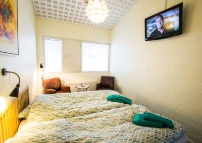 Bed and Breakfast Holstebro værelse