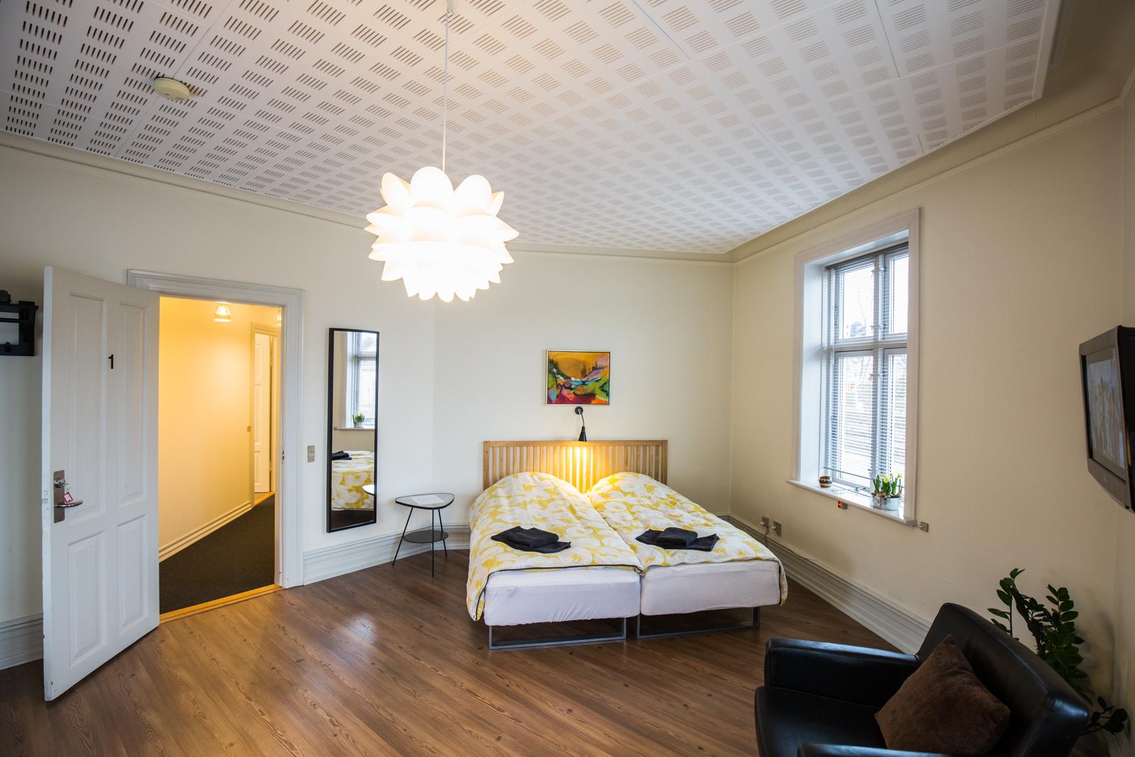 Bed and Breakfast Holstebro åbent rum